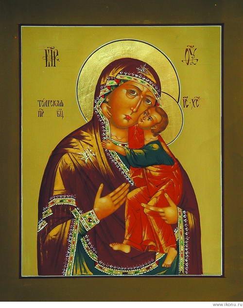 Икона Толгская Богоматерь