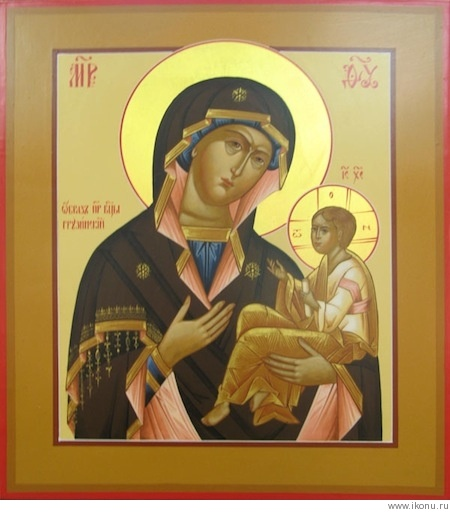 Грузинская икона Богородицы